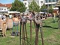 Hrnčířské trhy Beroun 2011, z výstavy, Adam Trbušek - Tři králové (003).JPG