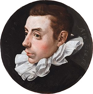 Hugo Grotius - Grotius at age 16, by Jan Antonisz. van Ravesteyn, 1599