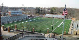 Lindenwood Lions - Hunter Stadium on the campus of Lindenwood University.