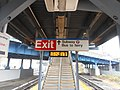 Hunterspoint Avenue LIRR; East Stairs to 7 Subway, Bus and Ferry.jpg