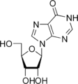 Hypoxanthosine Haworth.png