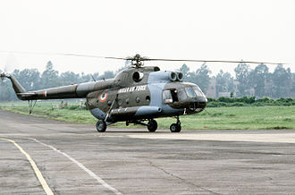 Sulur Air Force Station - Image: IAF Mi 8
