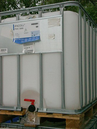Shipping container - A typical IBC