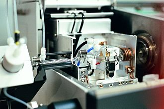 Inductively coupled plasma mass spectrometry - The atomizer of an ICP