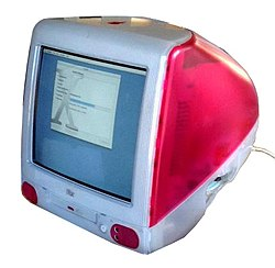 IMac G3 Strawberry Tray-Loading 1999.JPG
