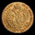INC-294-r Двадцать пять злотых 1819 г. (реверс).png