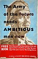 INF3-110 Forces Recruitment The Army of the Future needs ambitious men now Artist Dugdale.jpg