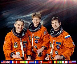 ISS Expedition 5 crew