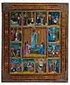 Icon of Resurrection (circa 1900., Russia, private coll.).jpg