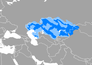 Kazakh language Turkic language
