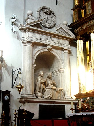 Gregorio Fernández - Image: Iglesia de San Miguel (Valladolid, España) Sepulcro de los Condes de Fuensaldaña