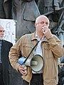 Ihor Rassokha at demonstration in support of Ukrainian language bill in Kharkiv 04.2019 (02).jpg