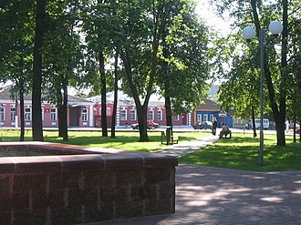 Chervyen - Town's central park