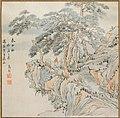 Ikeno Taiga 池大雅 - Pines on Mount Tai (after Gao Qian (after Tang Yin)) - 1985.203 - Arthur M. Sackler Museum.jpg