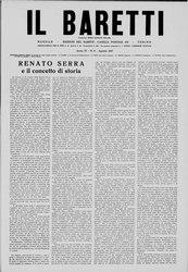 Il Baretti - Anno IV, n. 8