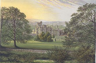 James Trubshaw - Ilam Hall in Morris's Country Seats, 1880