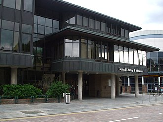 Ilford - Central Library and Museum, Clements Road, Ilford