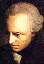Painting of Immanuel Kant.