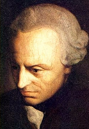 Argument from morality - Portrait of Immanuel Kant, who proposed an argument for the existence of God from morality