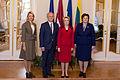 Ināra Mūrniece tiekas ar Igaunijas un Lietuvas parlamentu priekšsēdētājiem (16044414407).jpg