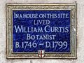 In a house on this site lived William Curtis botanist B. 1746-D.1799.jpg