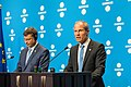 Informal meeting of economic and financial affairs ministers (ECOFIN). Press conference (36420895354).jpg