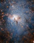 Infrared view of Lagoon Nebula.webp