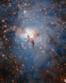 Infrared view of Lagoon Nebula.webp