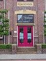 Ingang Rijkslandbouwwinterschool, Drachten.JPG