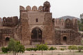 Inside View of Shah Chandwali Gate by Sheikh Rashid Hameed.jpg