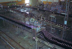 Surinaamse Brouwerij - Production at the Surinaamse Brouwerij
