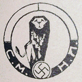 Insignia of the Union of Bulgarian Youth Legions with swastika.png