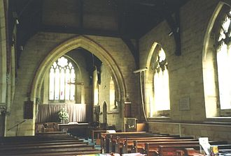 Felbridge - Interior of St John's Church