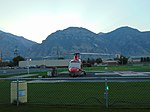 Intermountain Life Flight at Utah Valley Hospital, Provo, Utah, Aug 16.jpg