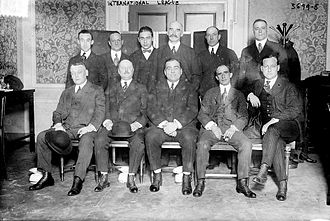 International League - International League baseball executives in 1915