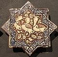 Iran, mattonelle stellate con animali, 1250-1300 ca. anatre.JPG