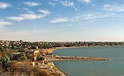 Iraqi city-Euphrates river