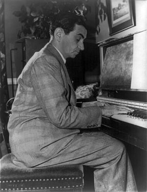 1948 in music - Songwriter Irving Berlin in 1948