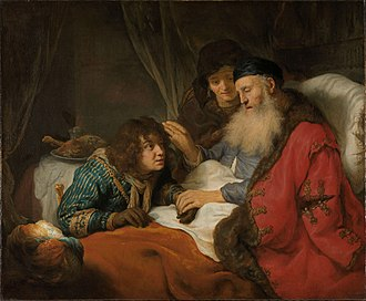 Blessing - Isaac Blessing Jacob, painting by Govert Flinck (Rijksmuseum Amsterdam)