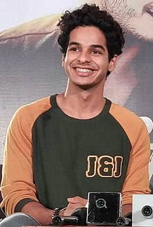 Ishaan Khatter in 2018 (cropped).jpg