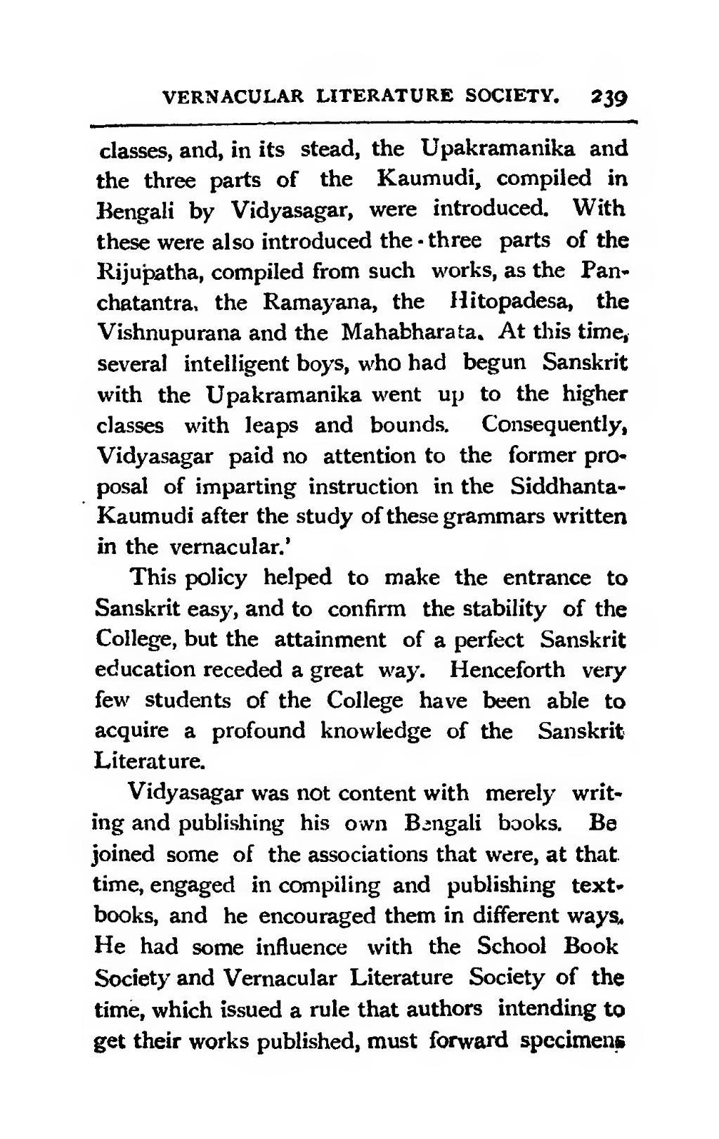 Pageisvar Chandra Vidyasagar A Story Of His Life And Workdjvu282