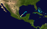Track map of Hurricane Item