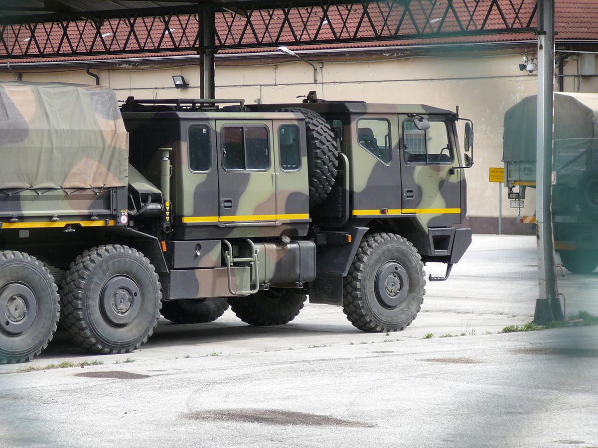 Aste camion Iveco militare 4x4 usato - n°2985343