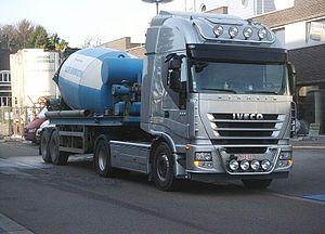 Nederlands: Iveco truck trekker betonmixer Zel...