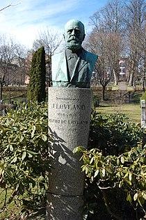 Jørgen Løvland, gravminne på Vår Frelsers gravlund, Oslo.JPG