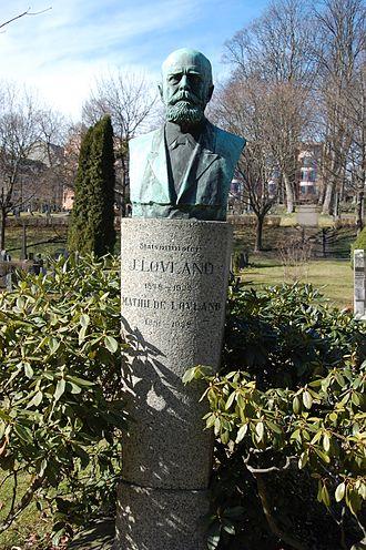 Jørgen Løvland - Gravesite of Jørgen Løvland, Vår Frelsers gravlund in Oslo