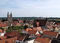 Jüterbog, historischer Stadtkern - Blick nach Südost.JPG