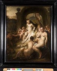 Venus en de drie Gratiën