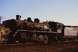 China Railways JF6 - JF6 3329 at the Shenyang Steam Locomotive Museum