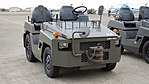 JGSDF 2.5t class aircraft towing tractor(Toyota L&F 2TG25) right front view at Camp Akeno November 4, 2017 02.jpg
